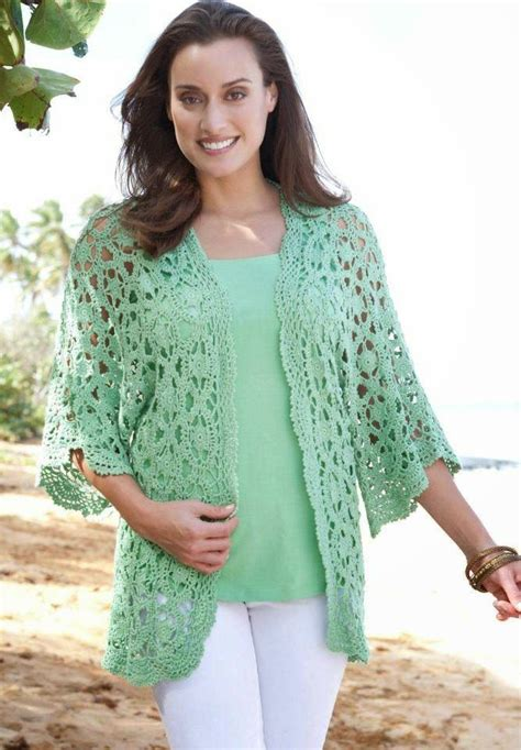 crochet cardigan of summer crochet free lacy cardigan chart and