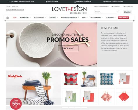 best home decor websites uk spotlight on lovethesign a new online shop with the