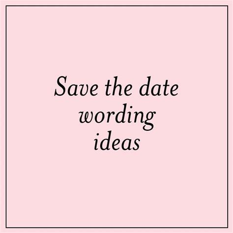 wedding save the date sayings save the date wording ideas custom