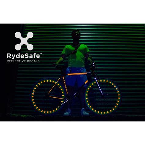 Helm Sticker Reflektierend by Reflektierende Hexagonale Fahrrad Sticker Von Rydesafe 8