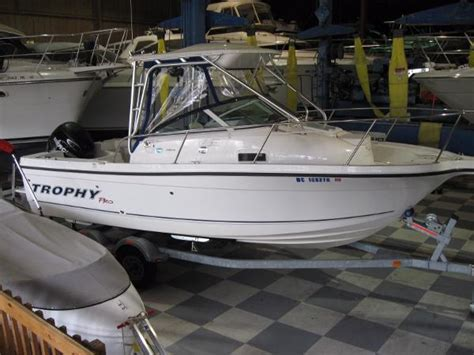 trophy boats pro package trophy 2102 walkaround boats for sale