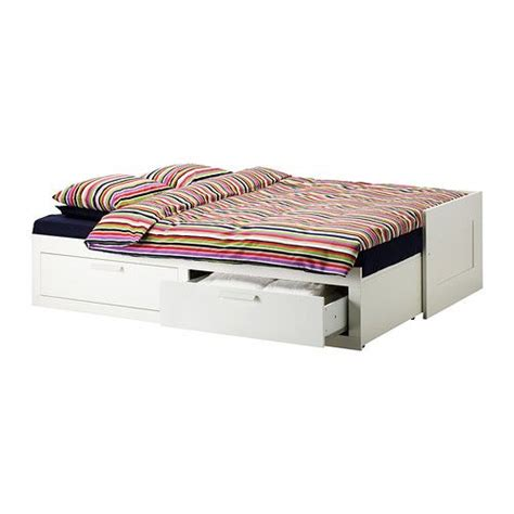 Single Bed Frame With Storage Malaysia Brimnes Daybed Frame With 2 Drawers White Ikea Guest