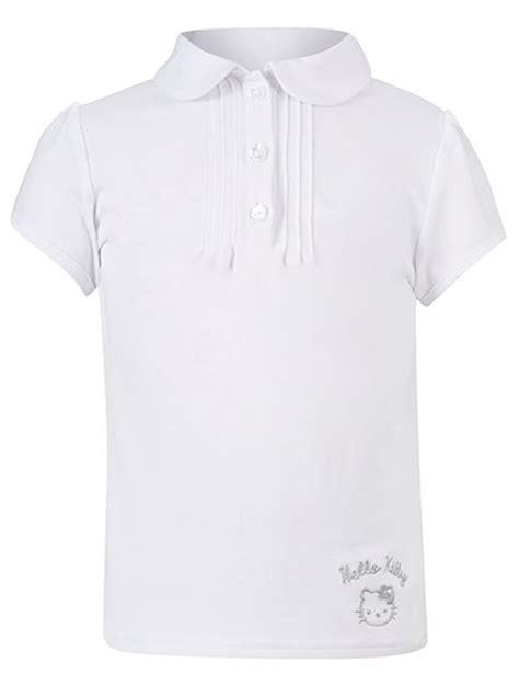 Kaos Polo Hellokitty 1 school hello polo shirt white school george at asda