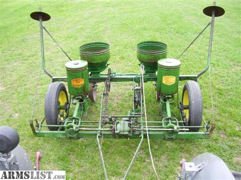 Deere Corn Planter For Sale armslist for sale deere 2 row corn planter