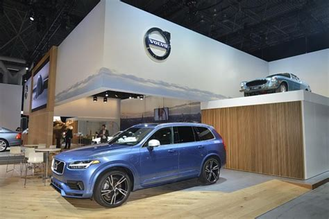 volvo xc excellence american debut  exclusive package nyias  fast lane car
