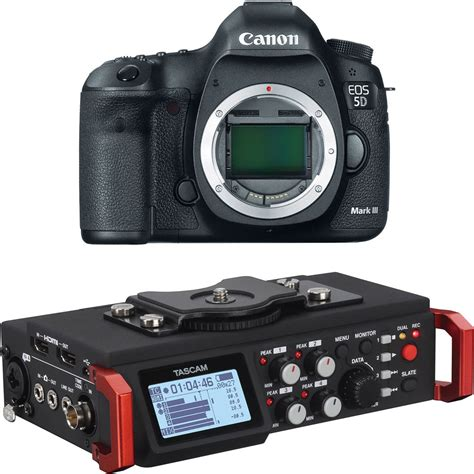 canon eos 5d iii canon eos 5d iii dslr with 6 track field b h