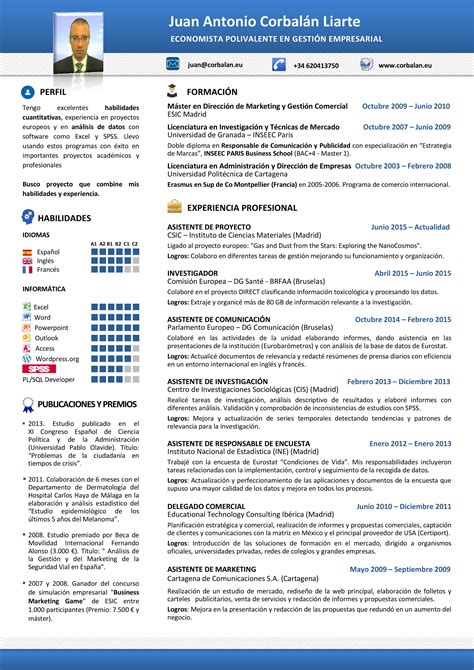 Formato Curriculum Vitae Europeo Espa Ol stupefying modelos de resume 13 17 best ideas about