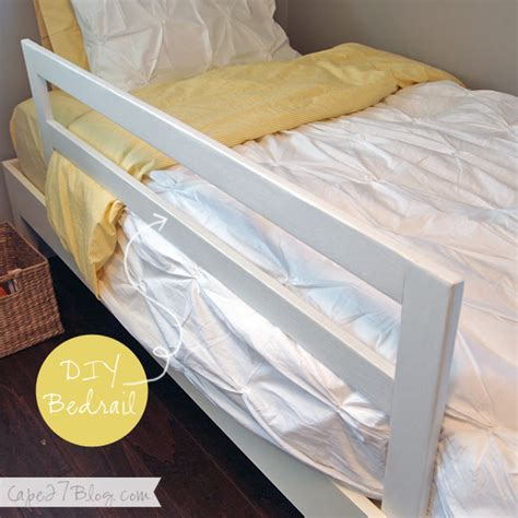 diy bed rail toddler bed guard rail diy crafts