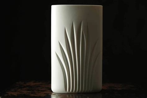 Special Matte Single Original 100 Maliboo white matte porcelain vase by c j riedel special edition 100 years rosenthal for sale at 1stdibs