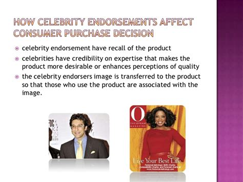 Products Endorsed By by Endorsements Finally Ppt