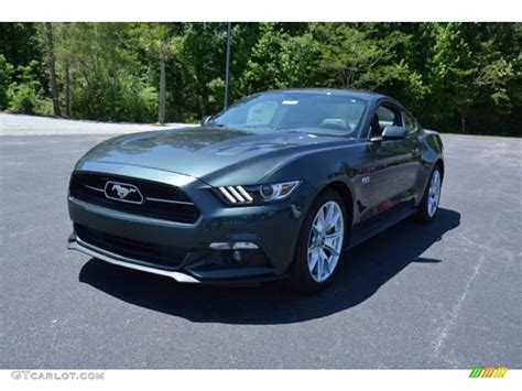 2015 mustang gt colors 2015 guard metallic ford mustang gt premium coupe