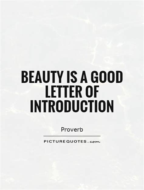 Introduction Letter For Quote Introduction Quotes Sayings Introduction Picture Quotes