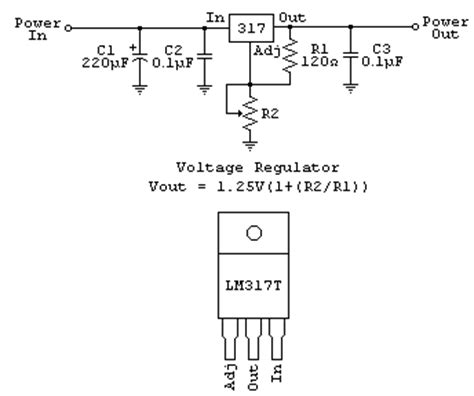 calculate resistor lm317 lm338 regulator how to calculate value of resistors
