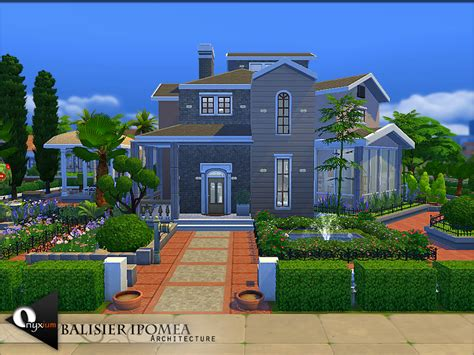 my dreamhouse the sims 4 house building w onyxium s balisier ipomea