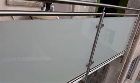 edelstahl balkongeländer mit glas edelstahl balkongel 228 nder mit glas selbst gebaut