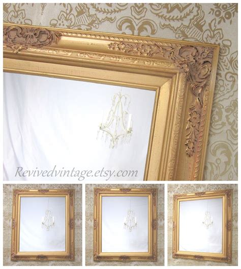 gold bathroom mirrors gold framed mirror many sizes available gold vanity mirror