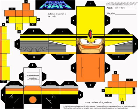 Today Papercraft by Cubeecraft Gutsman By Of Jorel Part 1 Of 2 By Of