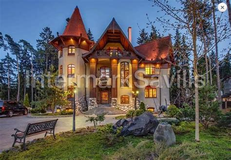 fairy tale like mansion in russia available for rent at