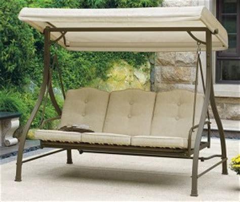 patio swing cushion replacement walmart mainstays warner heights cushions walmart replacement