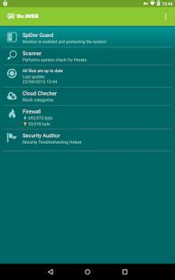 Android Security Giveaway - android giveaway of the day dr web security space for android
