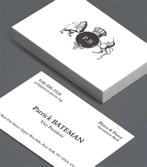 bateman business card template bateman not every business card comes with its