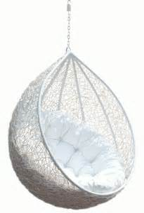 hanging chair rattan egg white half teardrop wicker