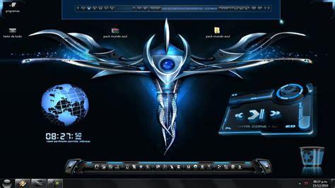 imagenes en 3d futuristas personaliza tu escritorio el azul del futuro youtube