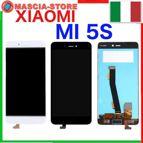 Lcd Xiaomi Mi 5s Fulset touch screen vetro lcd display assemblato per xiaomi mi