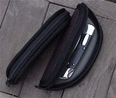 zippered knife pouch quality custom zippered knife pouch in ballistic cloth or