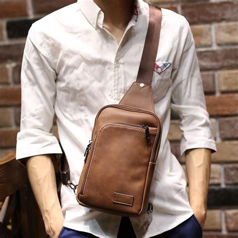 Tas Selempang Messenger Sling Bag Vintage Canvas Frank Bonjour leather sling bags promotion shop for promotional leather sling bags on aliexpress