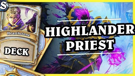 highlander deck highlander priest hearthstone deck std k c