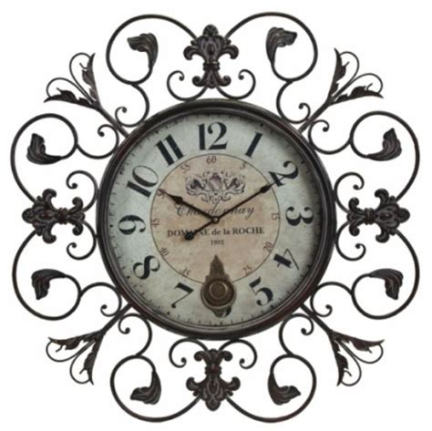 numeral design wall clock large from cbk home wall clock images wrought iron wall clock www