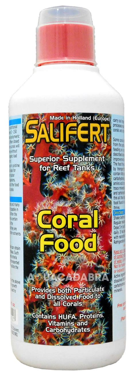 vitamin d carbohydrates salifert coral food hufa protein vitamin carbohydrates