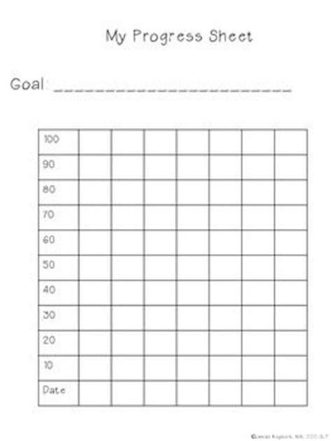 printable graphs for student progress student progress chart templates speech pinterest