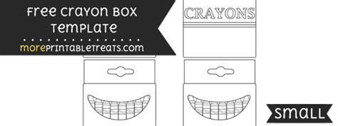 crayon box template free more printable treats