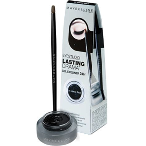 Maybelline Eyeliner Gel glittering maybelline gel liner its
