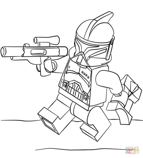 lego star wars coloring pages download lego clone trooper coloring page free printable coloring