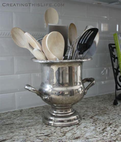 kitchen utensil holder ideas 25 best ideas about kitchen utensil holder on pinterest