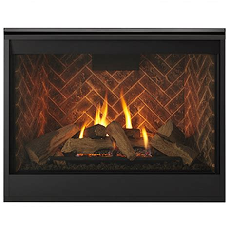 majestic meridian 42 quot top rear direct vent ng fireplace
