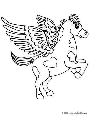 coloring pages of flying horse flying horse coloring pages coloring pages