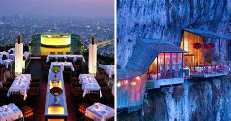 beautiful restaurants   view