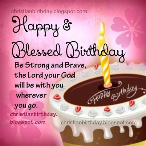 images  happy blessed birthday  pinterest personalized birthday cards christian