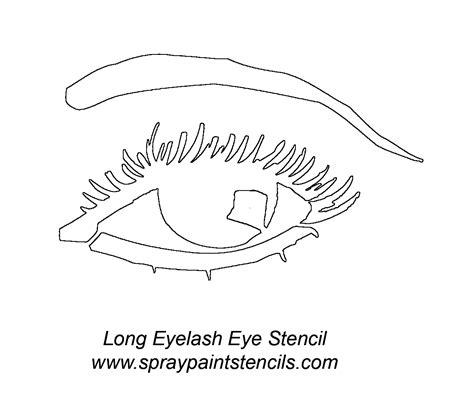 printable eyelash stencils stencil requests for december 2006