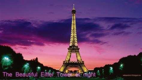 gambar pemandangan eiffel tower