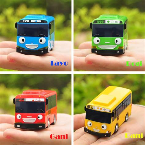 tayo the toys special set 4 characters
