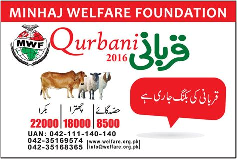 www minhaj org minhaj welfare foundation qurbani program minhaj ul quran