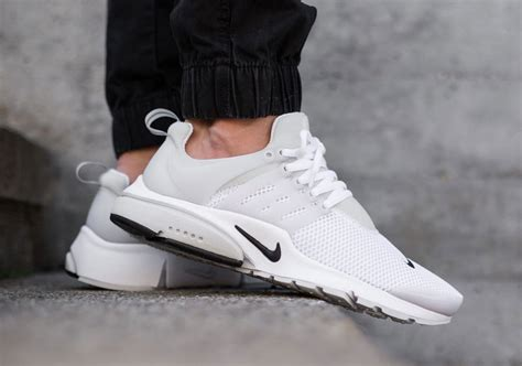 Nike Air Presto White nike air presto breathe white black sneaker bar detroit