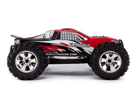 monster trucks nitro 3 redcat racing redcat earthquake 3 5 rc monster truck