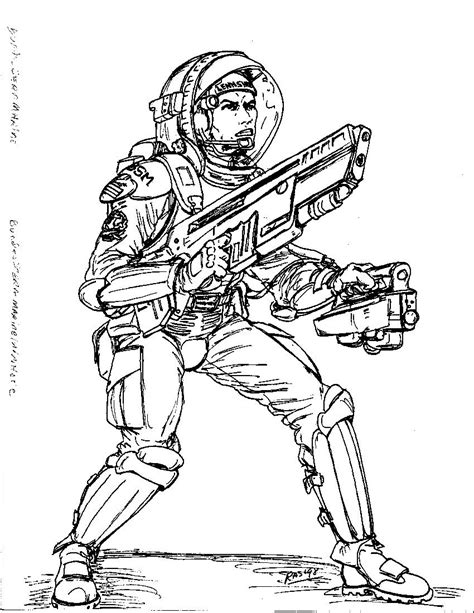 german army coloring pages 2300ad german military combat spacesuit by spake759 on