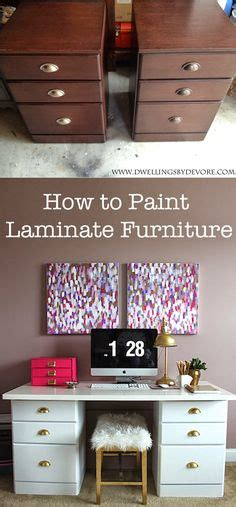 How To Paint Laminate Kitchen Cabinets Without Sanding by For The Home On Shower Curtains Painting